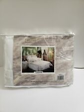 Brittney Collection Twin White Duvet Cover New Vintage