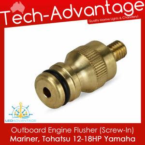 Boat Outboard Engine Flushers - Screw-In M8 - MARINER / TOHATSU / YAMAHA 37604