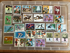 Thematic Stamps sports unchecked stamps