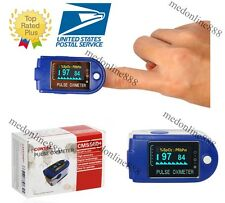 CMS50D+ Finger pulse Oximeter Blood Oxygen SpO2 Monitor with free software /USB