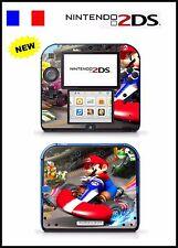 MARIO KART - vinyl Skin Aufkleber für Nintendo 2DS - réf 75