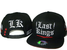 NEW Last Kings Adjustable Baseball Rock Cap Snapback Hip-Hop Hat Black Gift