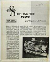 1959 Volvo PV 544 Small Car Parade Article Reprint