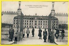 cpa 87 - SAINT YRIEIX LA PERCHE en 1919 Caserne FREYCINET Militaires Soldats