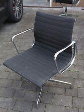 Vitra Charles Ray Eames EA108 Drehstuhl Alu Chair Hopsak schwarz EA 108 #2