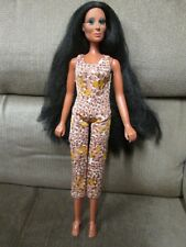 A Vintage 1975 Mego Cher Doll with Jumpsuit. 1 Owner.