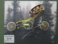 Custom Strat HH Wiring Harness Bourns Pots .022 ERO Cap 5/w Switch KellingSsound