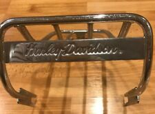 HARLEY DAVIDSON MOTOR METAL CHROME ? LUGGAGE RACK