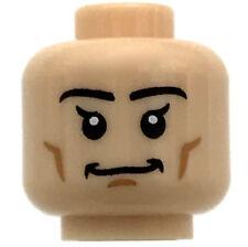 LEGO NEW LIGHT FLESH MINIFIGURE HEAD SMILE ELF LOOK AND CHEEK LINES PIECE