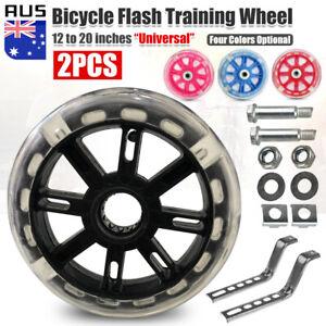 "Universal Bicycle Training Wheels Kids Bike Side Safe Stabilizer Support 12""-20"""