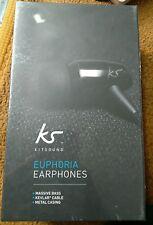 KitSound KS Euphoria HD High Definition Earphones Headphones With Microphone NEW