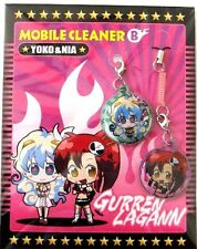 Gurren Lagann Screen Wiper Phone Strap Yoko, Nia NEW