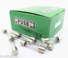 10Pcs Glass Fuse 6x30mm 6x30 F3A 3A 250V Fast Blow