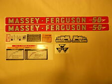 Massey Ferguson 50 Decal Set