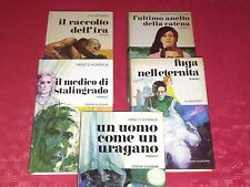 N° 5 Stupendi Romanzi ed. Accademia,in ottimo stato, con riferimenti storici.