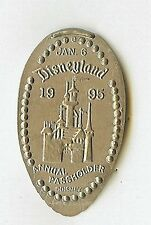 Disney Dl Jan 6, 1995 Annual Passholder Party Pressed Elongated Nickel Cm0002