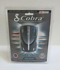 Cobra XRS 9440 Radar/Laser Detector, 12 Band Xtreme Range, New Sealed