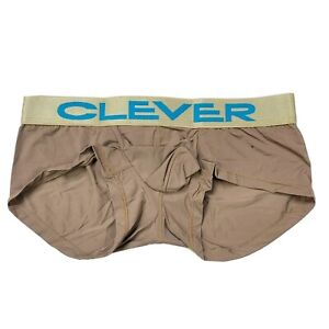 Clever Masculine Underwear Navy Latin Boxer Brown Medium Style 2323