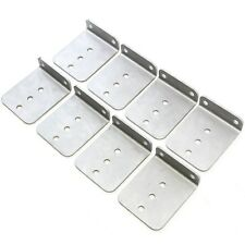 "(8) 6"" x 5"" Hot Dipped Galvanized L Type Boat Trailer New Bunk Board Brackets"