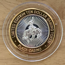 Silver Strike Coin COWBOY RIDE Plaza Hotel & Casino Las Vegas New January 2020