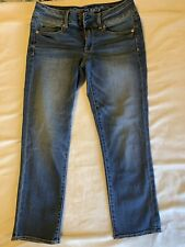 American eagle Womens Artist Crop Super Stretch Size 6 Excellent Condition!