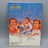 Vintage 1990 NHL All Star Game Weekend Program Lemieux Gretzky Pittsburgh