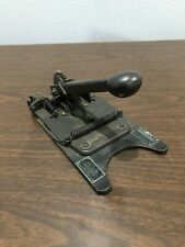 Vintage/Antique Gerrard STeel Srapping Co. STrapping Tool W/ Copper Tag Rare