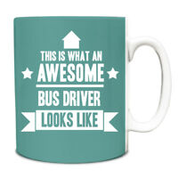 This is what an AWESOME Bus Driver Looks like Mug Gift idea coffee cup 030