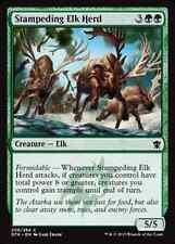 Stampeding Elk Herd  NM x4 Dragons of Tarkir MTG Magic Cards Green Common