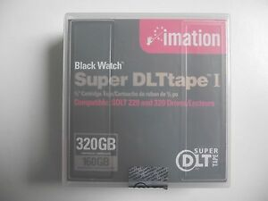 "DLT Tape I Imation Super 320GB 1/2"" Data Cartridge - Job Lot x 7 Sealed"