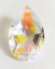 38mm Swarovski Strass  Aurora Borealis Teardrop Crystal Prisms Wholesale CCI