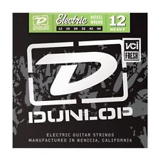 Dunlop 12-54 Nickel Heavy Electric Guitar Strings Made in USA DEN1254