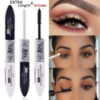 2 IN 1 Waterproof Silk Fiber Volume Double Effect Lengthening Curling Mascara