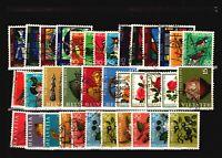 Switzerland 36 Mostly Used Semi Postals / Few Faults - C1154