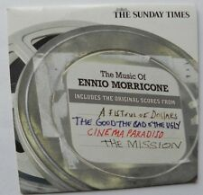THE MUSIC OF ENNIO MORRICONE PROMO CD