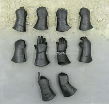 1/6 scale toy Star Wars Darth Vader Black Gloved Hands Set x10