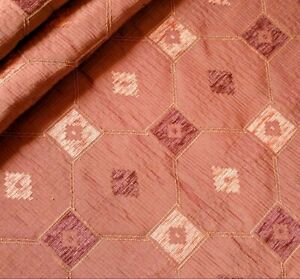 1.9m COPPER Rust Terracotta CURTAIN Upholstery Cushion Blinds Fabric Material