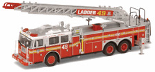 Very  RARE  Code 3 FDNY Ladder 49 Yankees Seagrave Rear Mount Fire Truck