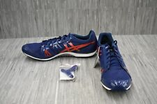 ASICS Hyper XC G509Y Spike Running Shoes, Men's Size 15, Navy/Red NEW