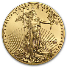 2015 1/10 oz Gold American Eagle BU - SKU #84886