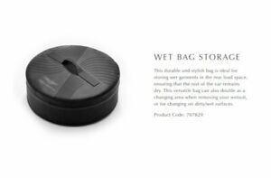 New OEM Genuine Aston Martin Wet Bag Storage Black Accessory DBX DB9 DBS 707829