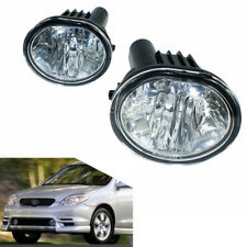 Fog Light for 03-08 Toyota Matrix Pontiac Vibe Clear Lens Bumper Driving Lamps
