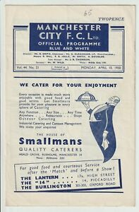 Manchester City V Wolverhampton Wanderers Rare Division One Programme 1949/50