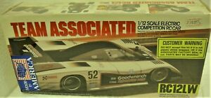 ASC 4406 1/12 Team Associated RC12LW World Edition Basic Graphite Kit Vintage