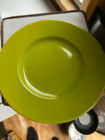 Charger Plates / Chop Plate - Lime.  Made in Waechtersbach Germany - 10 For Sale