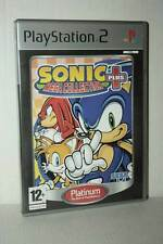 SONIC MEGA COLLECTION PLUS GIOCO USATO SONY PS2 EDIZIONE UK PLATINUM VBC 46853