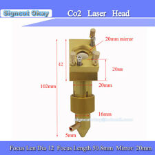 Laser Head with Co2 CNC Machine Mount for Free laser machine laser lens