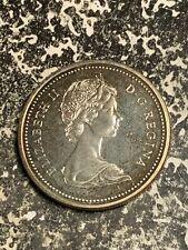 1972 Canada $1 1 Dollar Lot#Q8463 Silver! High Grade! Beautiful!