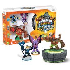 New Wii Skylanders Giants Starter Pack Jet-Vac Cynder Tree Rex Figures Official