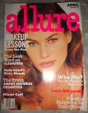 Vtg Allure 4/1992 Naomi Campbell Carre Otis Stephanie Seymour Eva Herzigova
